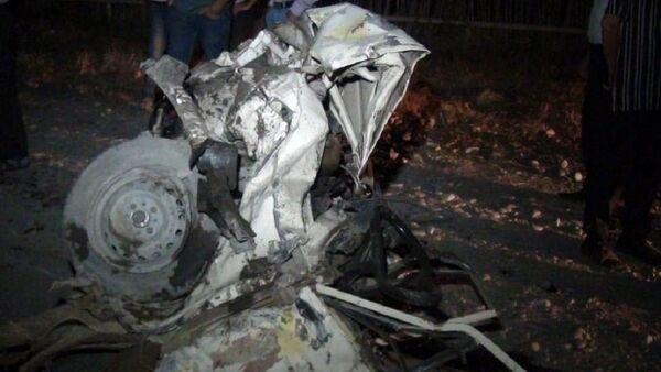 Авария, фото из архива - Sputnik Азербайджан