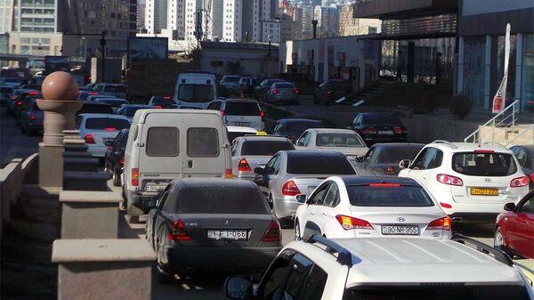 Автомобильные пробки в Баку, фото из архива - Sputnik Азербайджан