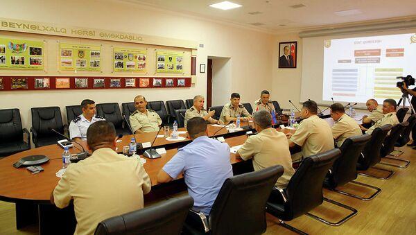 Делегация Вооруженных Сил Турции находится с визитом в Азербайджане - Sputnik Азербайджан