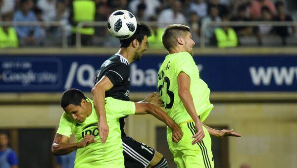 Футбольный матч Карабах-Шериф (Молдова) в рамках раунда плей-офф Лиги Европы - Sputnik Азербайджан
