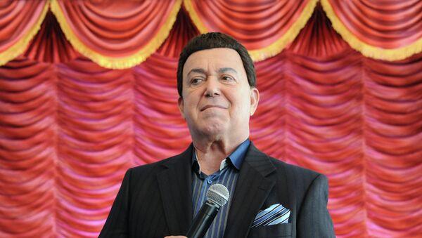 Певец, депутат Государственной думы РФ Иосиф Кобзон, фото из архива - Sputnik Азербайджан