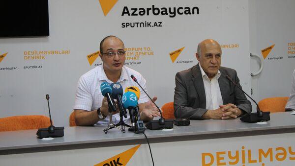 Пресс-конференция О связях Баку и Москвы, возможности участия страны в ОДКБ и многом другом - Sputnik Azərbaycan