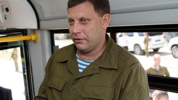 Глава самопровозглашенной ДНР Александр Захарченко - Sputnik Azərbaycan