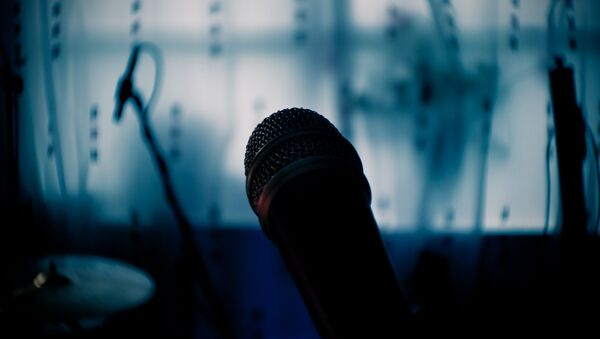 Микрофон, фото из архива - Sputnik Азербайджан