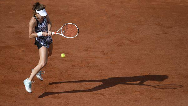 Теннисистка Ализе Корне - Sputnik Азербайджан