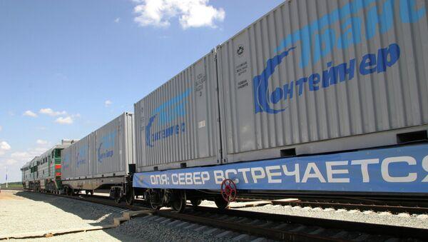 Российский участок международного транспортного коридора Север-Юг - Sputnik Азербайджан