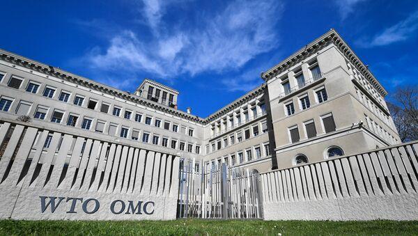 Штаб-квартира Всемирной торговой организации в Женеве - Sputnik Азербайджан