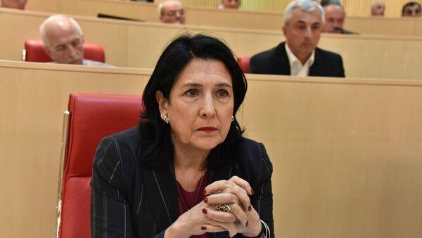 Экс-министр Саломе Зурабишвили - Sputnik Азербайджан
