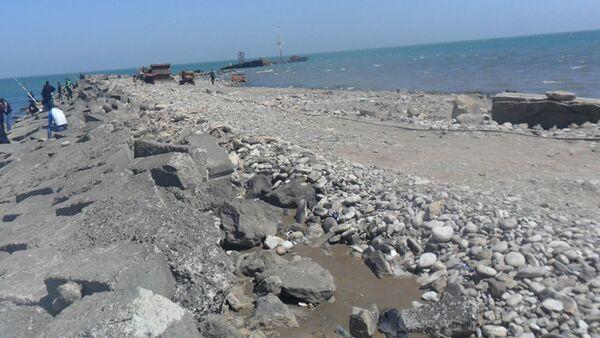Мониторинг на земельных участках в прибрежной зоне Каспийского моря - Sputnik Азербайджан