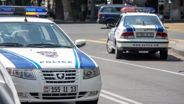 Полиция Армении - Sputnik Azərbaycan