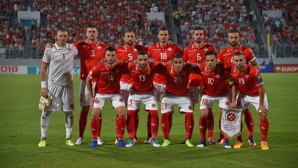 Игроки сборной Мальты по футболу, фото из архива - Sputnik Азербайджан