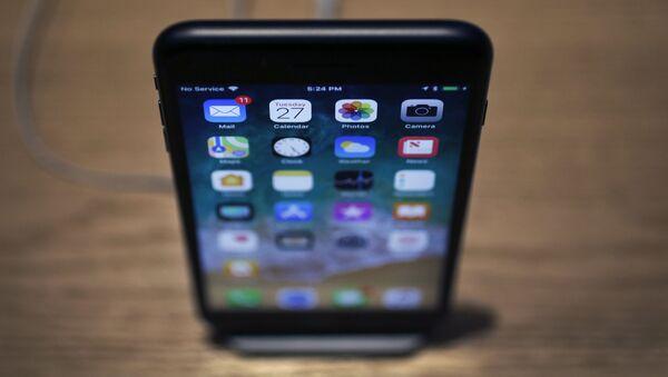 Телефон iPhone X - Sputnik Азербайджан
