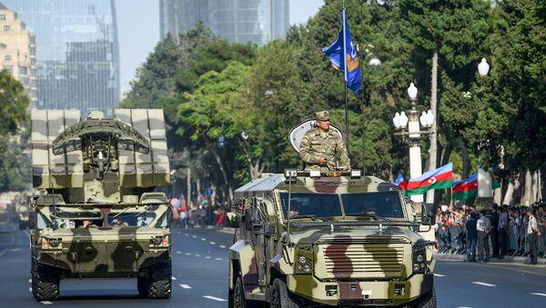 Военный парад в Баку, фото из архива - Sputnik Азербайджан