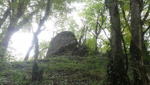 Крепость в селе Зарна - Sputnik Азербайджан