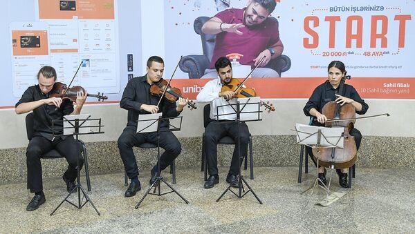 Bakı metropolitenində konsert - Sputnik Azərbaycan