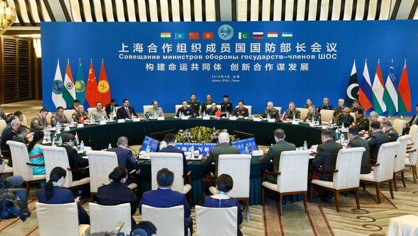 Совещание министров обороны государств - членов Шанхайской организации сотрудничества в Пекине, фото из архива - Sputnik Азербайджан