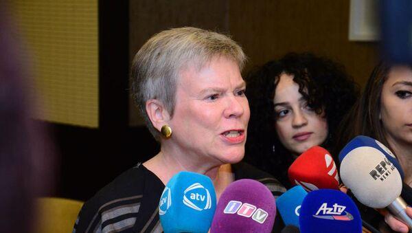 Заместитель генерального секретаря Альянса Роуз Геттемюллер - Sputnik Azərbaycan