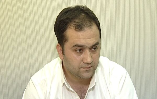 Задержанный Анар Исаев - Sputnik Азербайджан