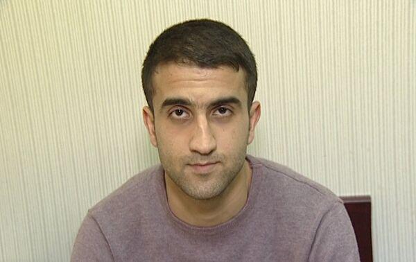 Задержанный Эльшан Мамедов - Sputnik Азербайджан