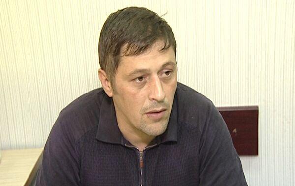Задержанный Тахир Рашидов - Sputnik Азербайджан