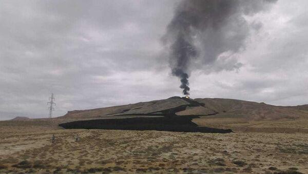 Извержение грязевого вулкана Отман-Боздаг - Sputnik Азербайджан