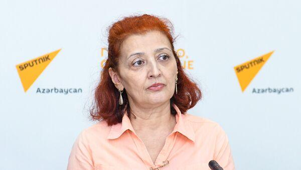 Гюльнара Инандж, руководитель центра Этноглобус - Sputnik Азербайджан