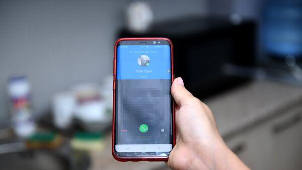 Звонок по мессенджеру WhatsApp - Sputnik Азербайджан