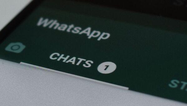 WhatsApp mesenceri - Sputnik Azərbaycan