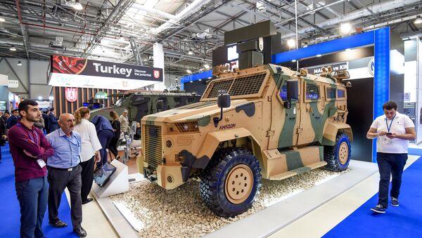 3-я Азербайджанская международная оборонная выставка ADEX - Sputnik Азербайджан