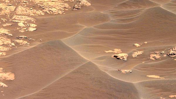 Рельеф планеты Марс, фото из архива - Sputnik Азербайджан