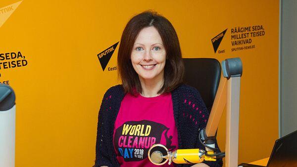 Активистка эстонского общественного движения Сделаем! координатор Всемирного дня чистоты Татьяна Лаврова - Sputnik Азербайджан