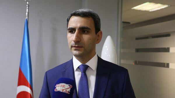 Заместитель главы ОАО Азеркосмос Ровшан Рустамов - Sputnik Азербайджан
