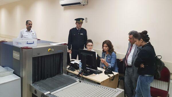 Был организован визит журналистов на таможенный пост Самур - Sputnik Азербайджан