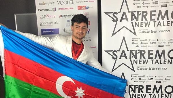 Азербайджанский певец Нофель Асланов - Sputnik Азербайджан