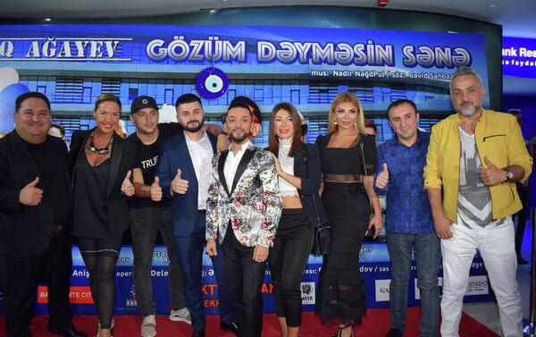 Презентация клипа Фаига Агаева на песню Gözüm dəyməsin sənə - Sputnik Азербайджан