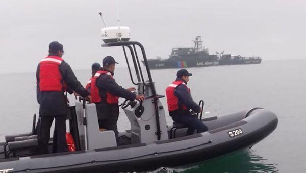 Береговая охрана Государственной пограничной службы Азербайджана (ГПС) перехватила более двух килограммов контрабандного героина - Sputnik Азербайджан