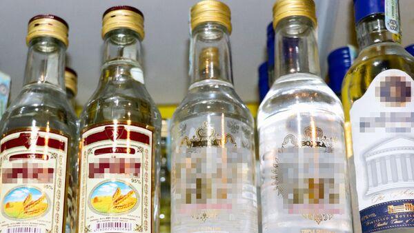 Продажа алкогольной продукции в Баку - Sputnik Azərbaycan