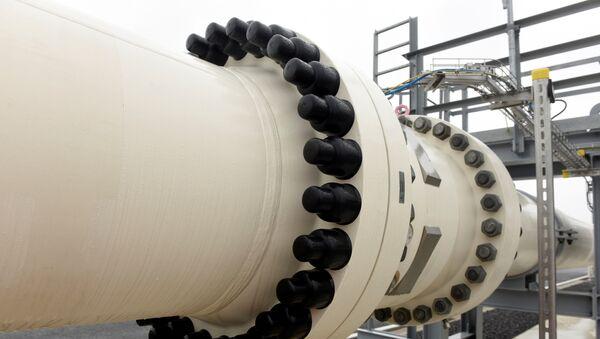 Газовый терминал, фото из архива - Sputnik Азербайджан