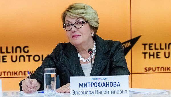 Митрофанова: русский язык - Sputnik Азербайджан
