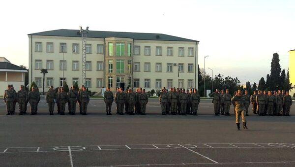 Сборы офицерского состава ВС Азербайджана - Sputnik Азербайджан