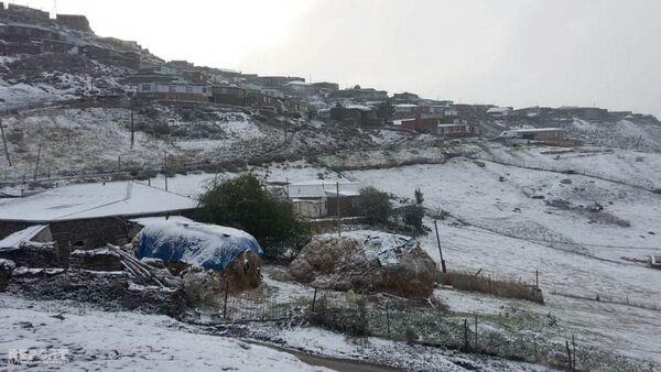 В Губе выпал снег - Sputnik Азербайджан