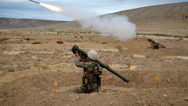 Проведены учебные тренировки подразделений противовоздушной обороны - Sputnik Азербайджан