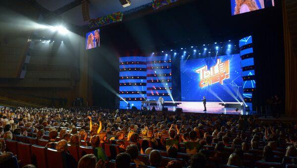Финал конкурса Ты супер! в Государственном Кремлевском Дворце - Sputnik Азербайджан