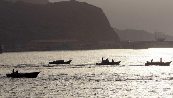 Ормузский пролив, фото из архива - Sputnik Азербайджан