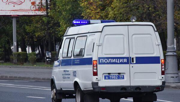 Автомобиль полиции в Москве, фото из архива - Sputnik Азербайджан