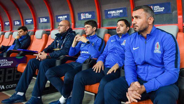 Матч 4-го тура группы 3 Дивизиона D Лиги наций по футболу между сборными Азербайджана и Мальты - Sputnik Azərbaycan