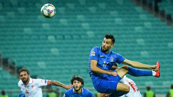 Матч 4-го тура группы 3 Дивизиона D Лиги наций по футболу между сборными Азербайджана и Мальты - Sputnik Азербайджан