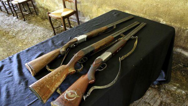 Охотничьи ружья, фото из архива - Sputnik Азербайджан