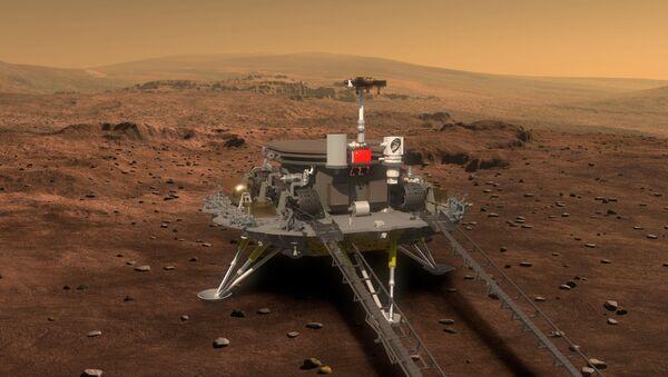 Китайская ракета на Марсе - Sputnik Azərbaycan