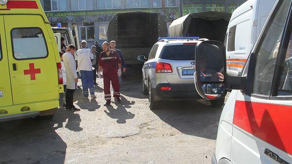 Теракт в политехническом колледже в Керчи - Sputnik Азербайджан